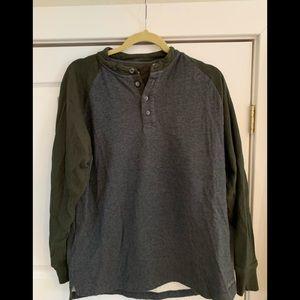 Cabelas long sleeve thick shirt